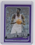 2019 Leaf Rookie Retro Mo Bamba Rookie Purple refractor rc /25