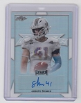 2019 Leaf Army All American Joseph Shimko Silver Refractor Auto /25