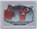 2018 Bowman Chrome Shohei Ohtani rookie Bowman Sterling refractor rc
