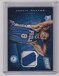 2015 Panini Cyber Monday Jahlil Okafor rookie 2 color Patch rc
