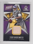 2016 Panini Day Teddy Bridgewater Pro Bowl Used Pylon card