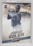 2015 PANINI FATHER'S DAY #43 JORGE SOLER Thick stock sp