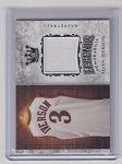 2018 Sportkings Allen Iverson Legends Game used Jersey card