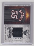 2018 Sportkings Dikembe Mutombo legends Game worn Jersey card