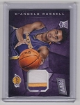 2015 Panini Cyber Monday Deangelo Russell rookie 3 color Patch rc