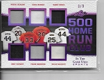 2018 Leaf in the game used Reggie Jackson / Eddie Murray / Barry Bonds / Mike Schmidt / Frank Robinson / Willie McCovey game used Jersey /9