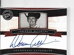 2005 Press Pass Legends Donnie Allison On card Auto card