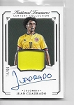 2018 National Treasures Juan Cuadrado Game worn Relic / auto /99