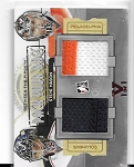 Leaf Best of Hockey Steve Mason Dual game used Patch card 1/1