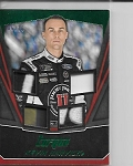 2017 Panini Torque Kevin Harvick Green Parallel  Quad race used Patch card /10