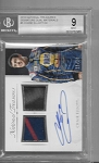 2016 National Treasures Chase Elliott Dual race used Relic / auto /24 BGS 9 MINT
