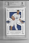 2016-17 National Treasures Collegiate Jahlil Okafor Black Parallel /5 BGS 9 MINT