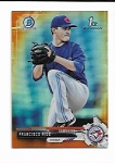 2017 Bowman Chrome Mini Edition Francisco Rios prospect Orange Refractor /25
