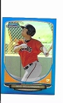 2013 Bowman Chrome Mini Edition Mac williamson prospect BLUE Refractor /99