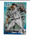 2017 Bowman Chrome Mini Edition Michael Kopech prospect 70th BLUE Refractor /70