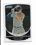2013 Bowman Chrome Mini Edition Aaron Judge prospect rc