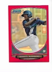 2013 Bowman Chrome Mini Edition Gabriel Guerrero prospect RED Refractor /10