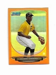 2013 Bowman Chrome mini edition Dilson Herrera prospect ORANGE refractor /15
