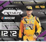 2018 Panini Prizm Racing Hobby Box  12 packs  4 AUTOS