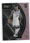2017-18 Panini Select Justin Patton rookie Pink Refractor rc /10