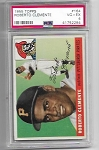 1955 Topps Roberto Clemente rookie rc #164 PSA 4  centered nicely