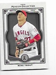 2013 Topps Museum Collection Mike Trout card