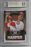 2011 Bowman Chrome Bryce Harper retail only red refractor BGS 9.5 GEM MINT