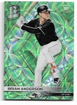 2018 Panini Spectra Brian Anderson Green scope refractor rookie rc