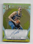 2017-18 Panini Spectra Enes Kanter Global Icons GOLD refractor Auto /10