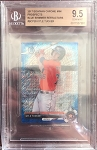 2017 Bowman Chrome Mini Prospects Blue Shimmer Refractor Kyle Tucker BGS 9.5 Gem Mint