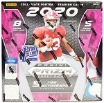Tuesday   2020 Prizm draft picks FOTL BOX 15 man First name letter break .  list and random will be done at packwars.org   I will place a $925.00 Burrow green ice/18 bounty paid immediately after break