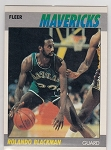 1987-88 Fleer Rolando Blackman card