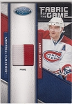 2011-12 Certified Andrei Markov fabric of the game 2 color Patch /25