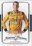 2016 National Treasures Kyle Busch Black parallel card 5/5