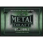 2020 leaf metal baseball hobby box ripped live at Packwars.org