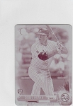 2017 Bowman chrome mini edition Aaron Judge rookie Printing plate rc 1/1