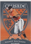 2018 Panini Crusade #5 Manny Machado card