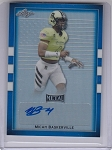 2017 Leaf Army All American Micah Bakersville Blue flag refractor auto /10