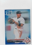2017 Bowman chrome mini edition Gleyber torres prospect BLUE Refractor rc /70