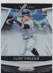 2018 Panini Prizm Holo Refractor #4 Clint Frazier rookie