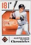 2018 Panini Chronicles #2 Austin Hays Rookie Rc