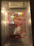 2017 Bowman Chrome Mini Nick Senzel RED Ref. /10 BGS 9 Mint