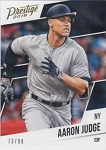 2018 Prestige Gold #16 Aaron Judge /99