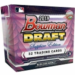 2019 Bowman Draft Sapphire box  Cracked live at Packwars.org
