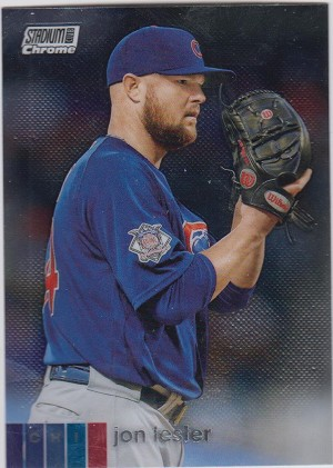 2020 Topps Stadium Club Chrome Jon Lester