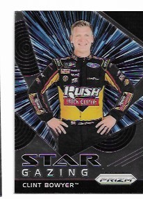 2018 Panini Prizm William Byron Star Gazing Insert card