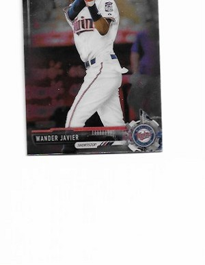 2017 Bowman Chrome mini edition Wander Javier prospect rc