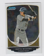 2013 Bowman Chrome Mini Austin Meadows Card