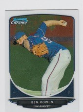 2013 Bowman Chrome Mini Ben Rowen Card