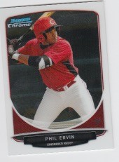 2013 Bowman Chrome Mini Phil Ervin Card